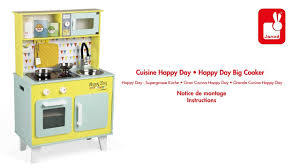 Cuisine Happy Day Janod Notice De Montage Youtube