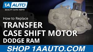 Dodge Ram 2500 Service 4wd Light How To Replace Transfer Case Shift Motor 06 10 Dodge Ram