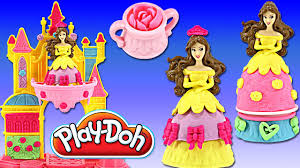 Play Doh Disney Princess Design A Dress Ballroom Play Doh Disney Princess Belles Blooming Castle Mix N Match Dresses Sweet Treats Playdough