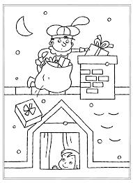 Kleurplaat Thema Sint Piet Saint Nicholas Xmas En Crafts