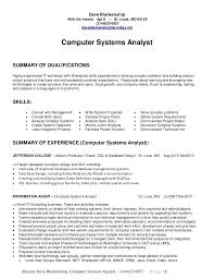 Business Analyst Resume Summary Examples Junior business analyst resume capable visualize summary examples 20
