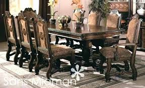 9 piece formal dining set dining table set for 8 dining table set for 8 round