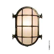 Chrome Bulkhead Light Oval Brass Bulkhead Light 7035 With Internal Fixing By Davey Lighting