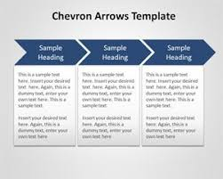 Powerpoint Chevron Template Free Chevron Arrows Template For Powerpoint