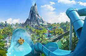 Image result for orlando universal studios volcano bay  with luxury car service website banner