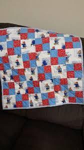 14 best Paddington bear quilt images on Pinterest | Quilting, DIY ... & Paddington Bear baby quilt (April 2015) Adamdwight.com
