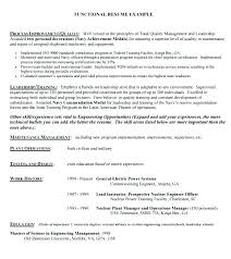 Format Of Functional Resume Functional Format Resume Template Unique ...