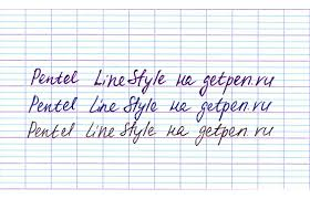 <b>Pentel</b> Line Style 0.8 (синий стержень) BK708-C - getpen.ru