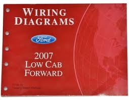 2006 ford lcf low cab forward truck electrical wiring diagrams wiring diagrams ford 2007 low cab forward