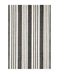 birmingham black white striped indoor outdoor rug