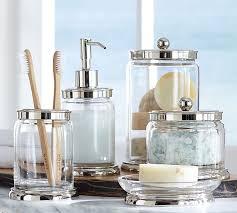 mercury glass bathroom accessories. Gallery Of Evleen Mercury Glass Bath Accessories Pottery Barn Inside Elegant Bathroom A