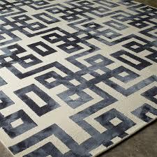 Grecian Key Design Tie Dye Greek Key Pattern Rug Shades Of Light