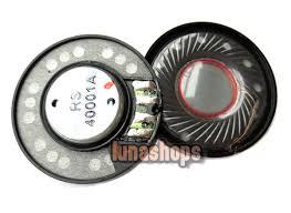 speakers parts. 1 pair dia 40mm repair parts speaker unit for earphone headset headphone speakers