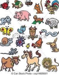 domestic animals clipart.  Domestic Nice Domestic Animals  Csp14805001 Inside Domestic Animals Clipart