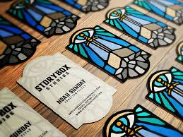 Storybox Studios Business Cards Ver 1 By Dusan Klepic Dribbble