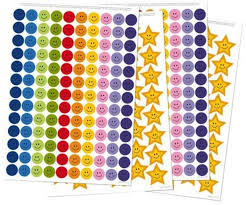 The Victoria Chart Company Reusable Extra Reward Stickers