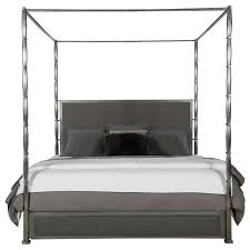 Bernhardt Interiors - Dominic King Canopy Bed with Metal Posts ...