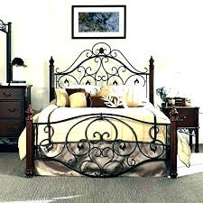 wrought iron bed frame queen – parkfriends.info