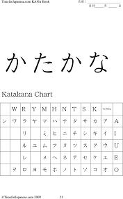 Download Katakana Chart 2 For Free Tidytemplates