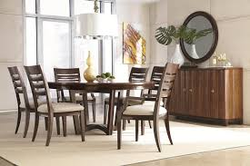 round dining table for 6. Exellent For Round Dining Table 6 Simple Wooden Cabinet Placed Near Oak  For And Chairs Under White Lamp Images On L