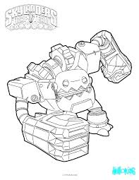 Free Skylanders Coloring Pages Trap Team Color Pages Printable