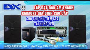 Lắp đặt dàn âm thanh karaoke gia đình cao cấp cho chị chủ spa tại Hưng Yên  - LH 0913456172 - YouTube