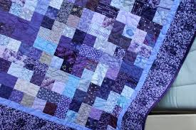 The Purple Quilt - Sarah Goer Quilts & purple quilt-detail 2 Adamdwight.com