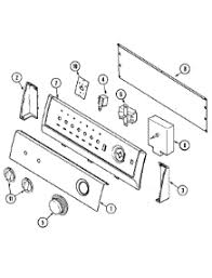 parts for crosley cdeazw dryer com 02 control panel parts for crosley dryer cde6500azw from com