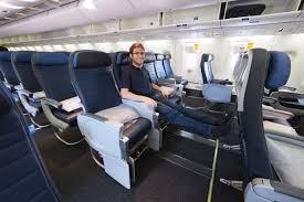 United Economy Plus Seating Chart Where To Sit When Flying Uniteds 767 300er Economy