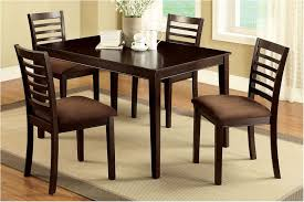 incredible four dining room chairs homes design four chair dining table size