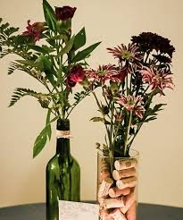 Wine Bottle Cork Centerpiece