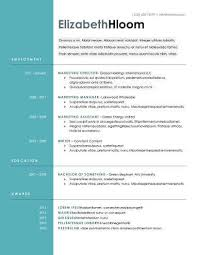 Trendy Resume Templates Contemporary Resume Intoysearch