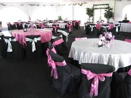 pink and black table setting ideas. .MY TABLE IS IN THE MIDDLE WITH THE