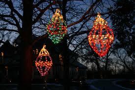 outdoor lighting decorations. Lighting Hanging Tree Ornaments Outdoor Decorations I