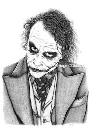 Disegno A Matita Di Joker On We Heart It The Baltic Post