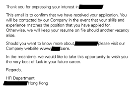 Thank You For Expressing Your Interest In Our Company How To Write