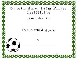 Soccer Certificate Templates For Word Sports Award Certificate Template Word Format Download Free Wo
