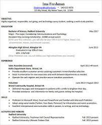 college resume samples college resume sample 8 examples in word pdf
