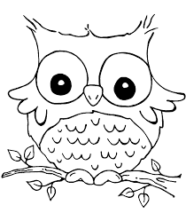 Coloring Page Owl Coloring Home