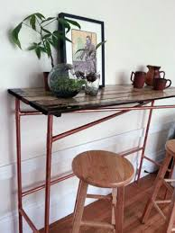 easy diy furniture projects. Easy Copper Pipe And Reclaimed Wood Table Diy Furniture Projects