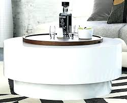 table ya coffee 3 round cb2 acrylic craigslist