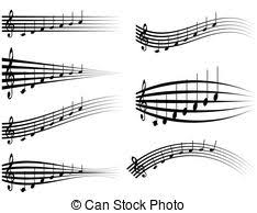 Musical Staff Sign Treble And Bass Key Abstract Sign Music Is The Key To Our Souls