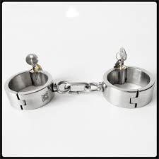 Невидимый круглый замок из нержавеющей стали <b>наручники</b> ...