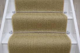 sisal oatmeal herringbone stair runner 7mx 064m stairrunners direct sisal stair
