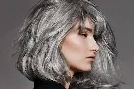Cheveux Gris Les Coiffures Cheveux Gris Pour Femme