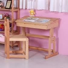 wood children table little children study table solid wood pine simple room book on table unfinished wood children table