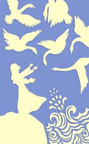 Risultati immagini per the six swans clipart