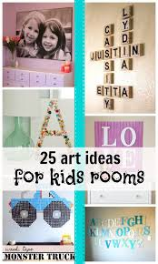 art ideas for kids rooms