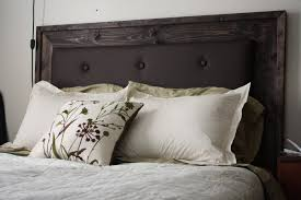 Cover Headboard With Fabric More Like Home Simple Upholstered Headboard