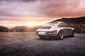 Singer likes to say that it reimagines the porsche 911, and if that's true, these twins may be their most imaginative yet. Notbland Automotive Photography Cars Landscape Photography Spotlight Magazine Production Par Singer Vehicle Design Automotive Photography Singer Porsche